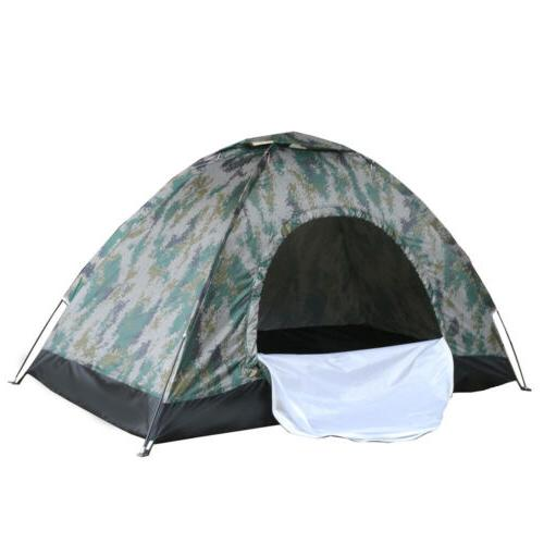 2-4 Camping Season Tent Camouflage