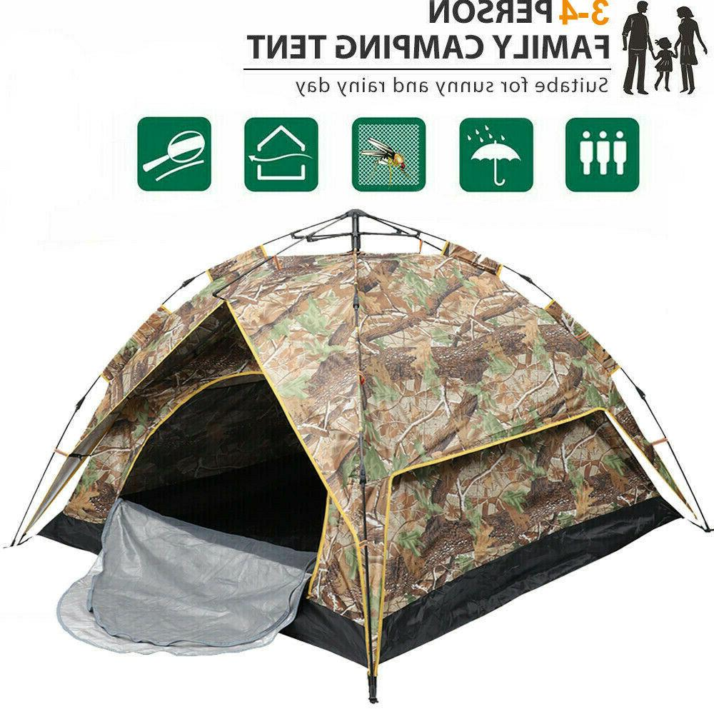 2 person automatic pop up outdoor hiking