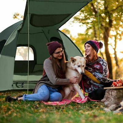 2-Person Compact Portable Pop-Up Tent/Camping Mattress & Bag