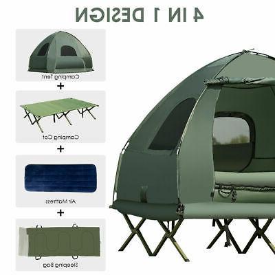 2-Person Compact Portable Tent/Camping Cot Mattress