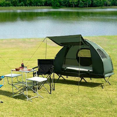 2-Person Portable Tent/Camping Cot Mattress Sleeping