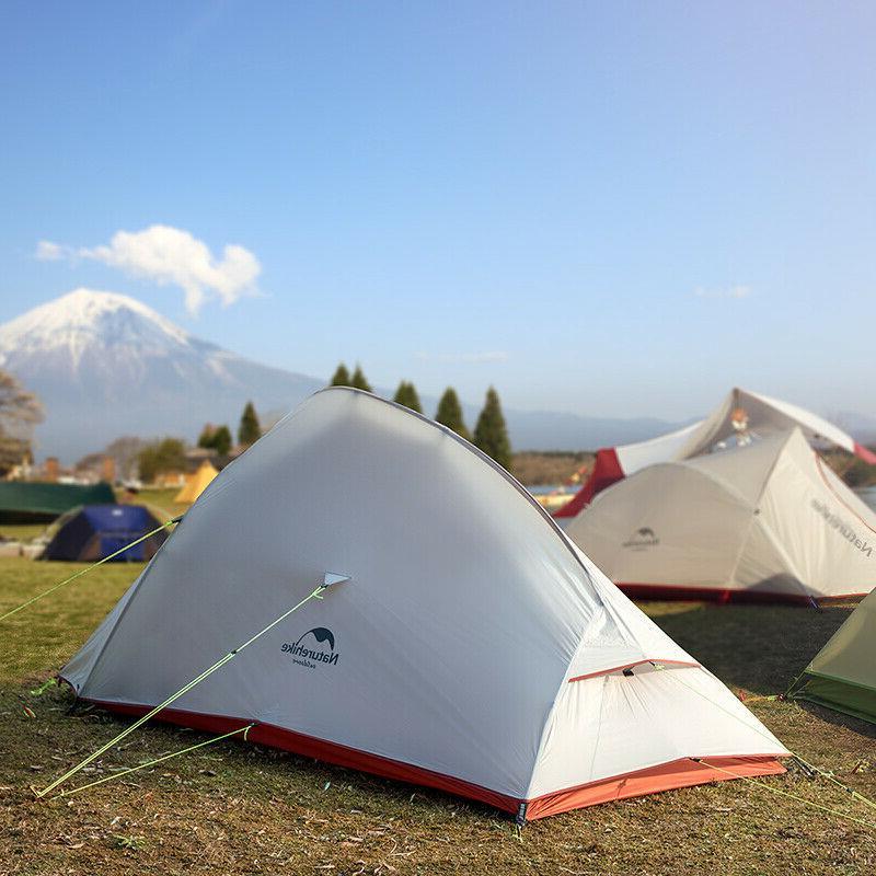 Naturehike 2 Ultralight Camping Tent 20D