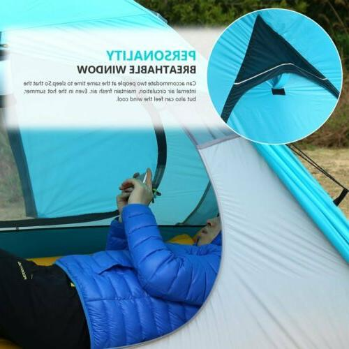 2019 Waterproof Person Double Layer Camping Tent