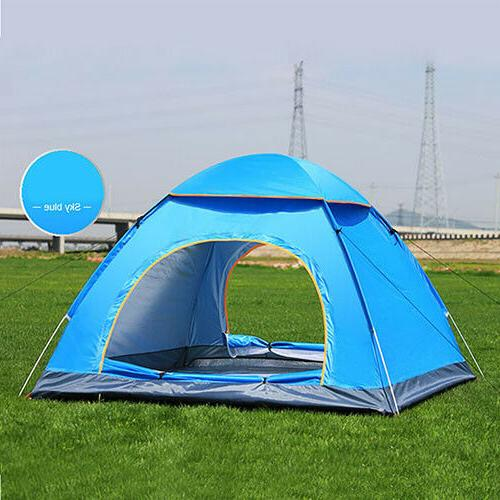 3-4 People Outdoor Pop Tent Camping Hiking
