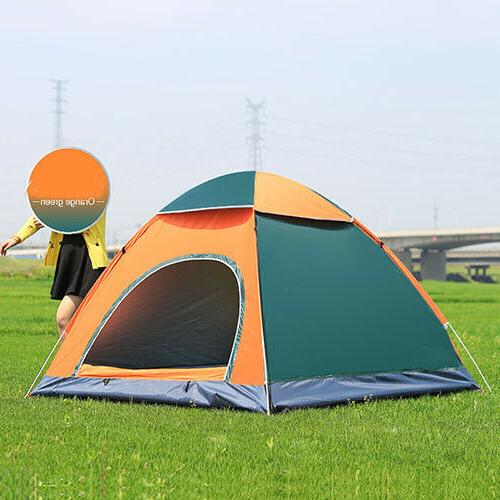 3-4 Waterproof Automatic Outdoor Instant Tent