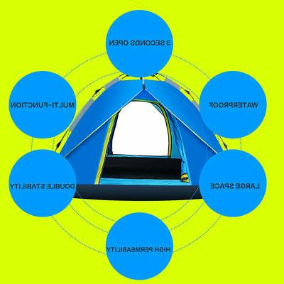 3-4 Outdoor Up Tent Camping Tent