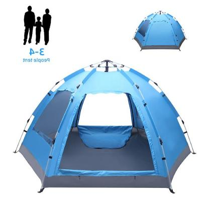 3-4 Automatic Pop-Up Tent Layer