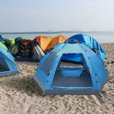 3 4 person camping dome tent instant