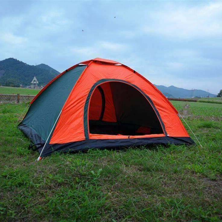 3-4 People Waterproof Automatic Outdoor Instant Pop Up Tent