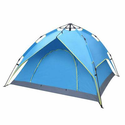 3-4Person Outdoor Camping Hiking Waterproof Up Tent
