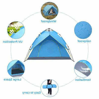 3-4Person Camping Waterproof Automatic Up Picnic