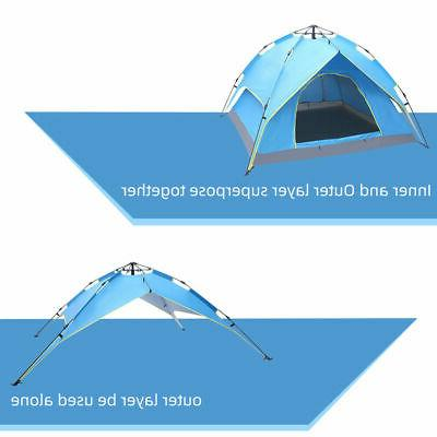 3-4Person Waterproof Automatic Up Tent