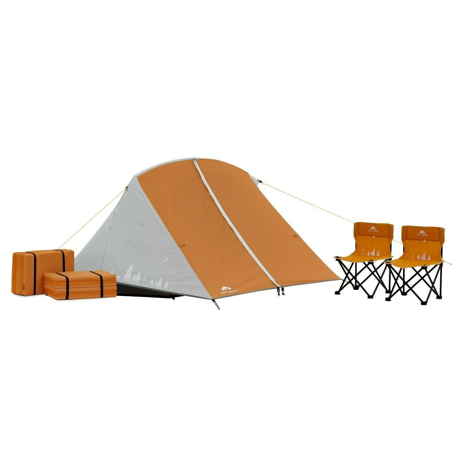 3 person kids tent camping bundle