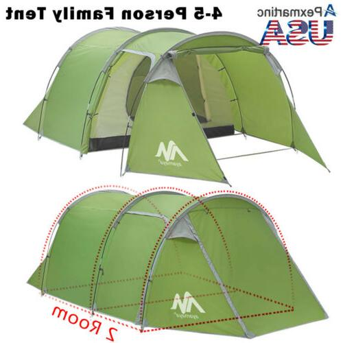 4-5 Person Dome Family Camping Tent Shelter