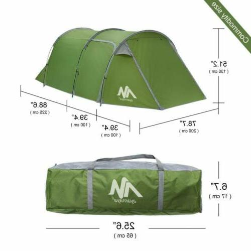 4-5 Dome Camping Tunnel