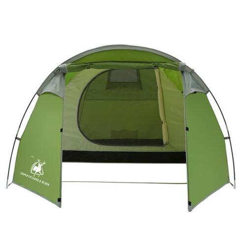 4-5 Family Tunnel Dome Tent Cabin