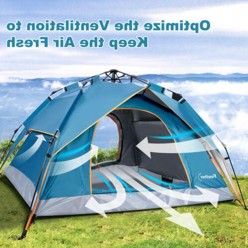 4-Person Instant Camping Tent Hiking