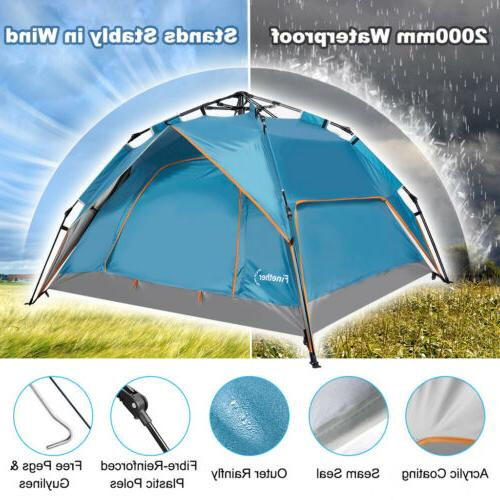 4-Person Automatic Instant Camping