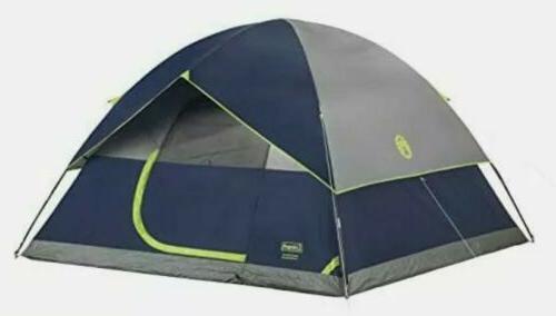 4 person camping sundome tent