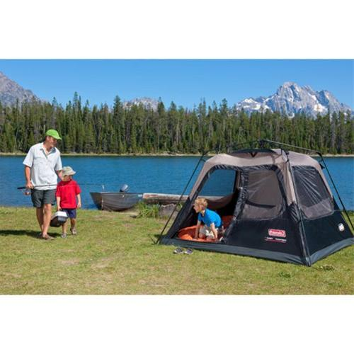 Coleman with Setup   Cabin Tent for Sets Up Seconds