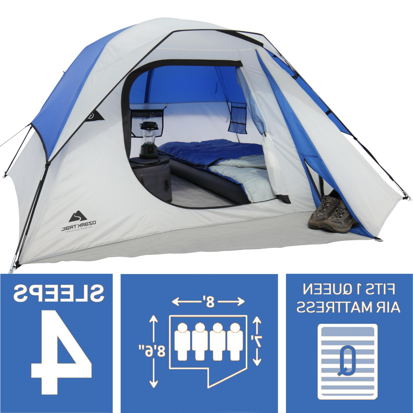 4 person outdoor hiking camping tent waterproof