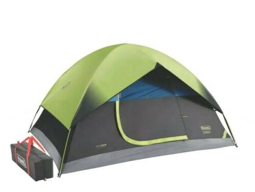 Coleman Room Camping Tent with Easy Setup