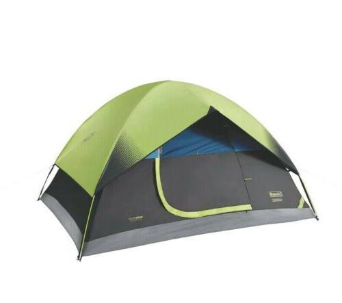 4 person sundome dark room dome camping