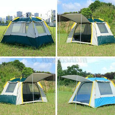 5~6 People Pop Tent Camping Kit