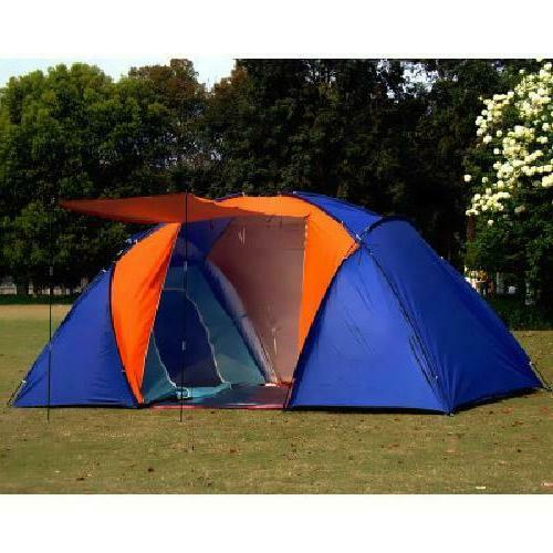 5-8 Person Big Tent Waterproof Two Travel Tent For