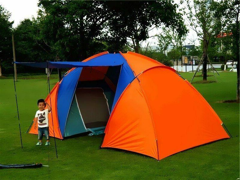 5-8 Big Camping Tent Waterproof Two Tent For