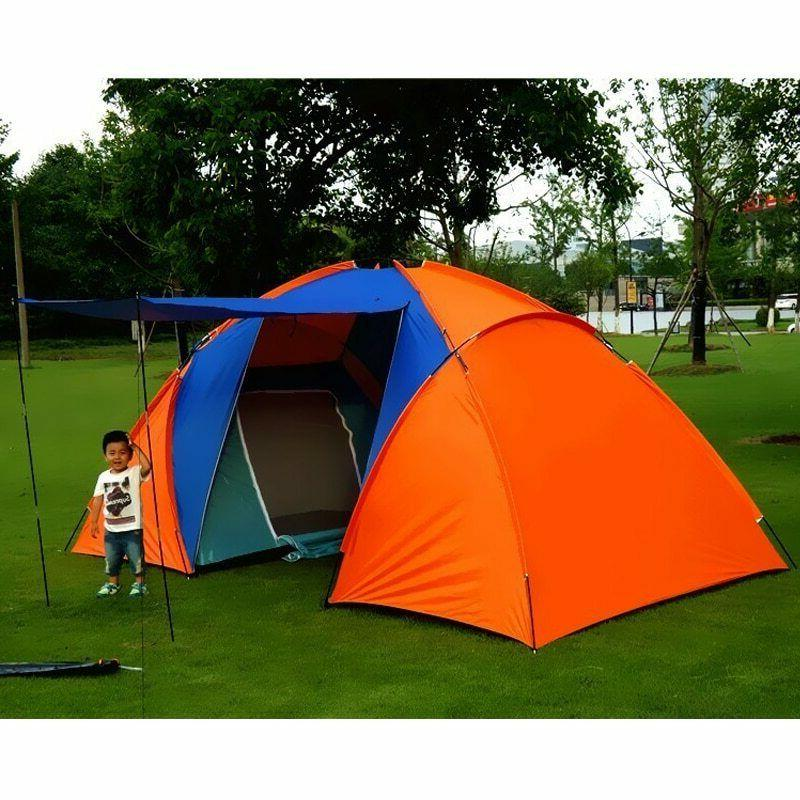5 8 person big camping tent waterproof