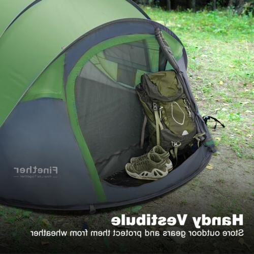 5-Person Tent Dome Automatic Family Shelter