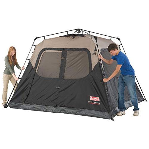 Coleman with Cabin Camping Sets 60 Seconds