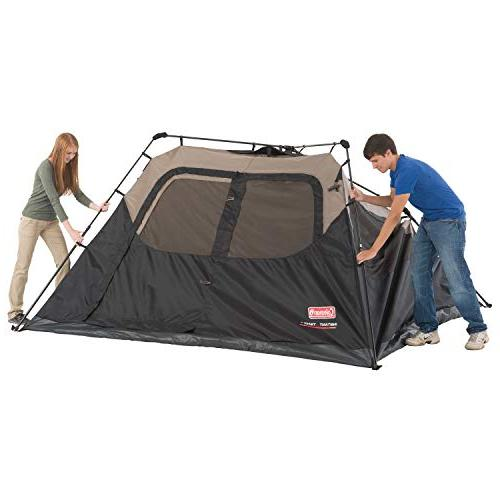 Coleman Cabin with Cabin Tent Sets Seconds