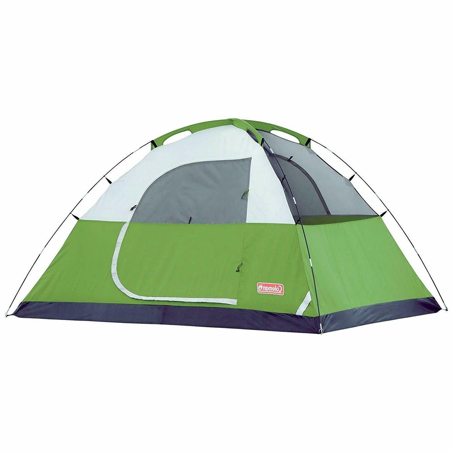 Coleman 6 Person Sundome Tent Hunting Canopy
