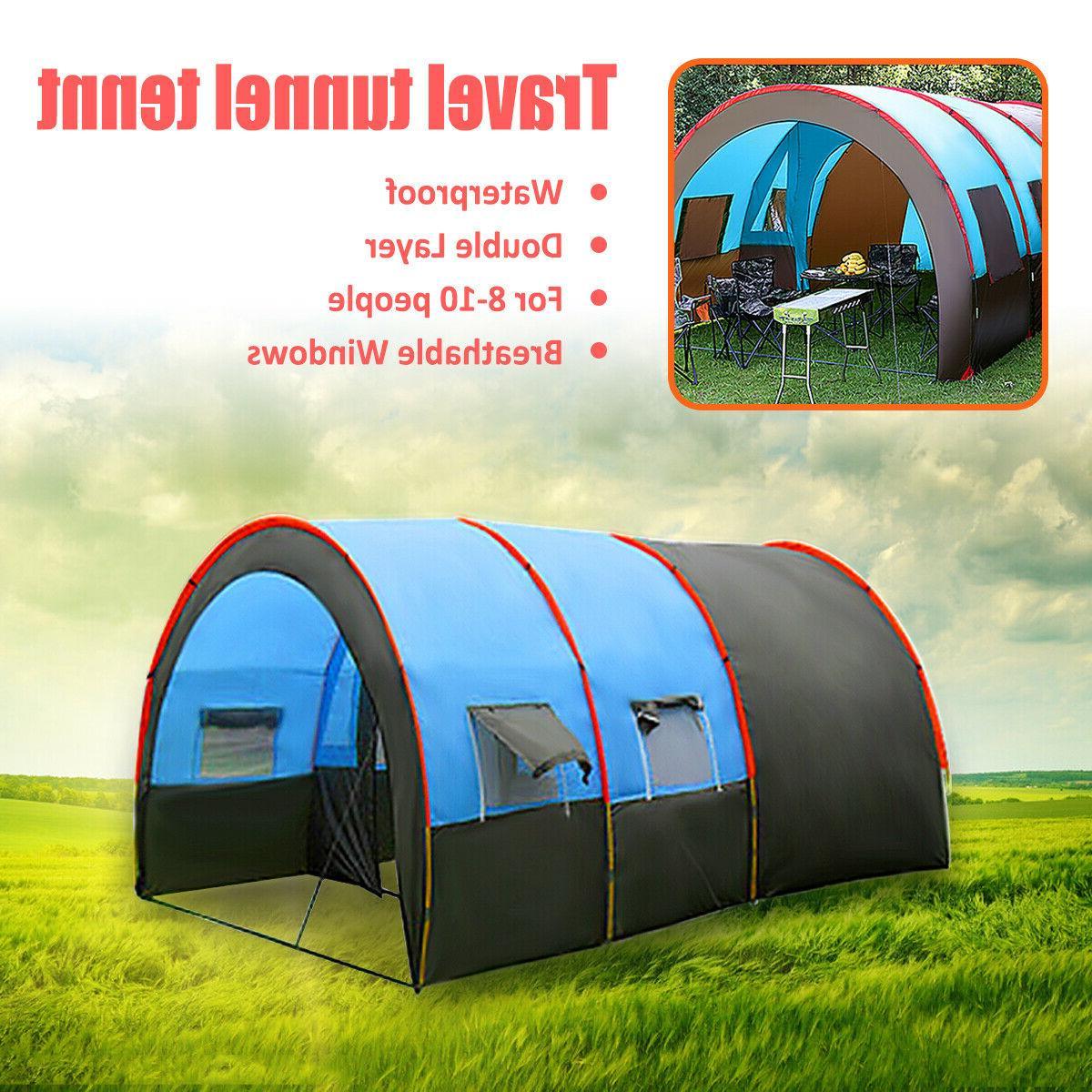 8-10 Waterproof Travel Double Layer