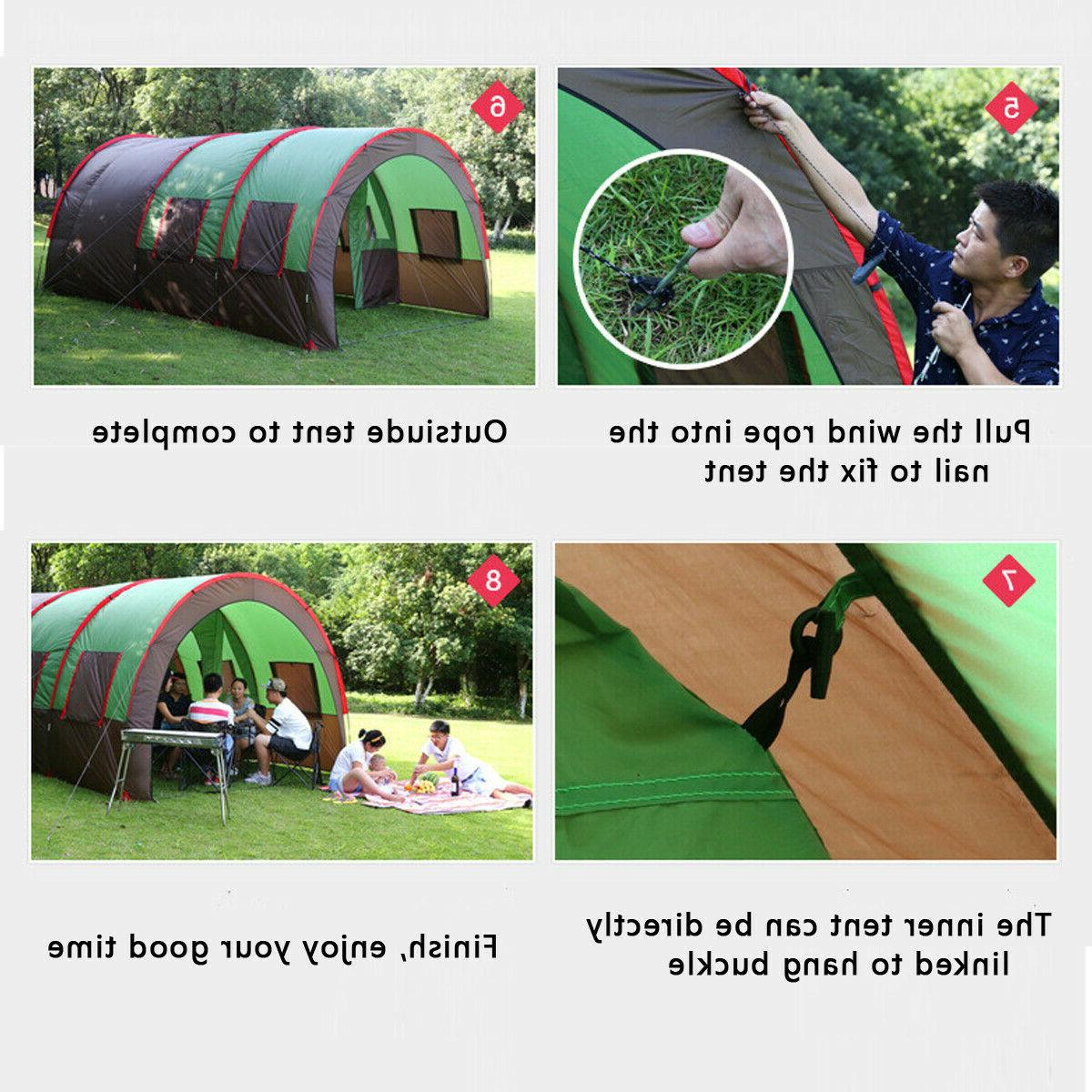 8-10 People Travel Layer Outdoor