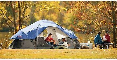 Camping 8-Person With Privacy Patented Welded