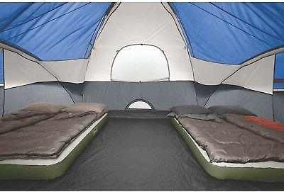 Camping With Patented Welded Floors