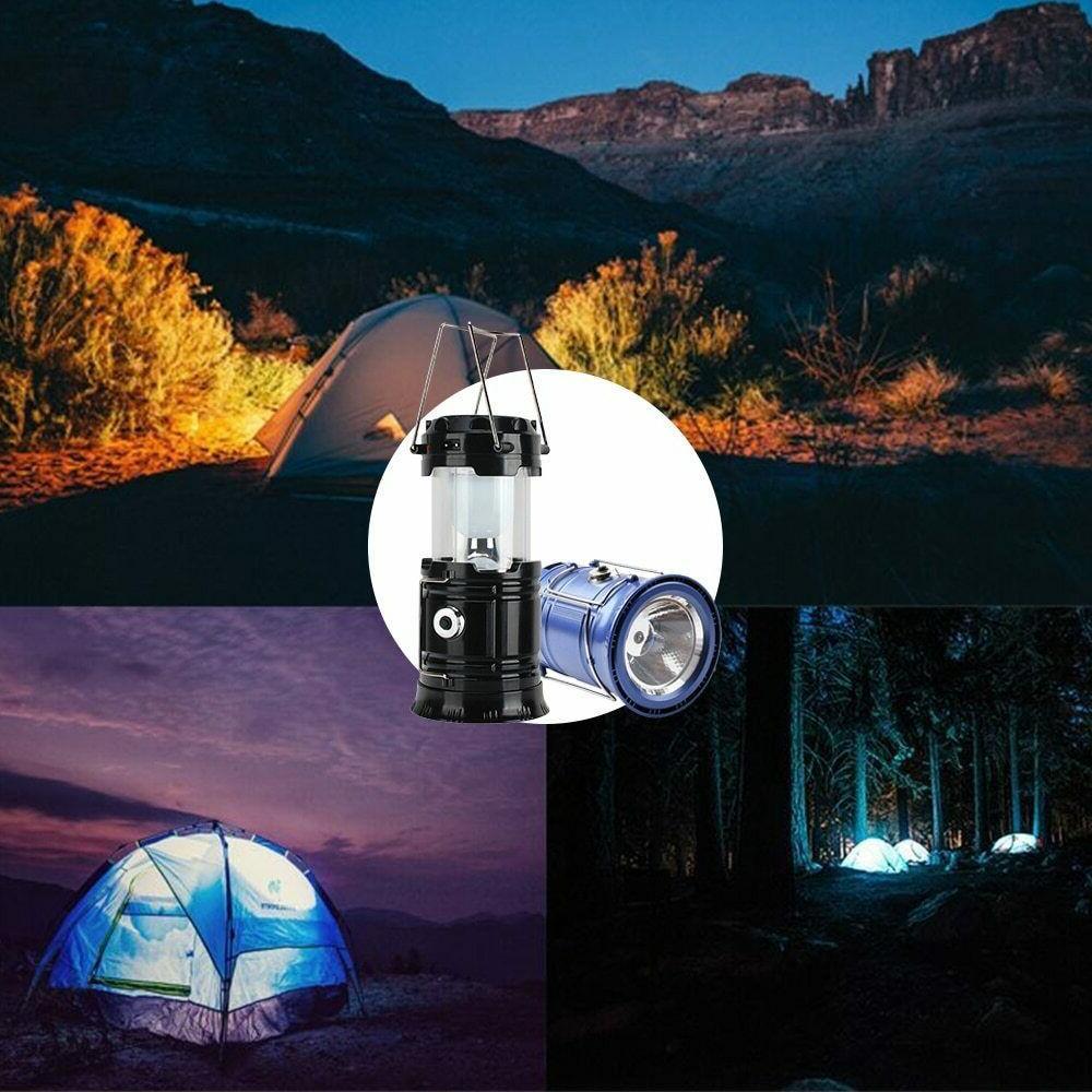 80000LM LED Solar Tent