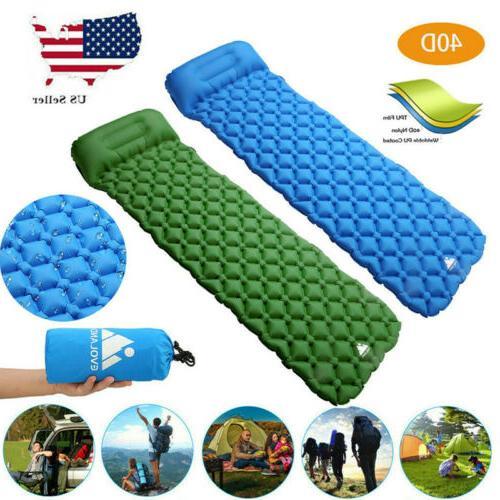 air inflatable ultralight mat outdoor tent sleeping