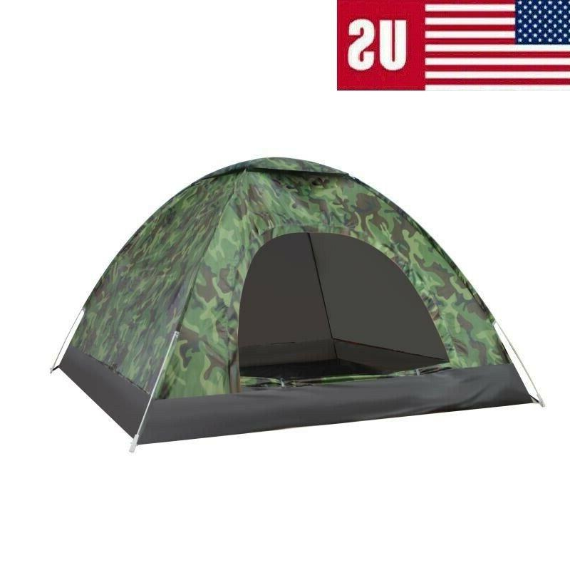Automatic Folding Outdoor Double Waterproof person
