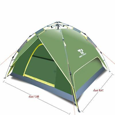 Automatic Hiking Camping Waterproof UV 2-3 Person