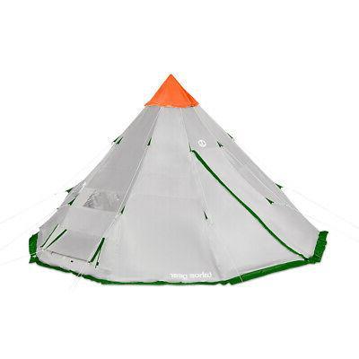 Tahoe Gear Bighorn 18 12 Cone Shape Camping Tent