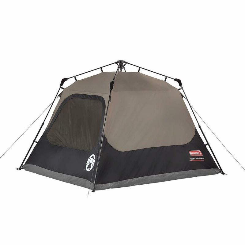 Coleman Cabin Tent with Instant | Cabin Tent Sets Up in 60