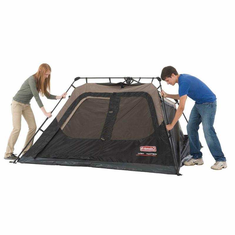 Coleman Cabin Tent Instant Tent for Camping Up
