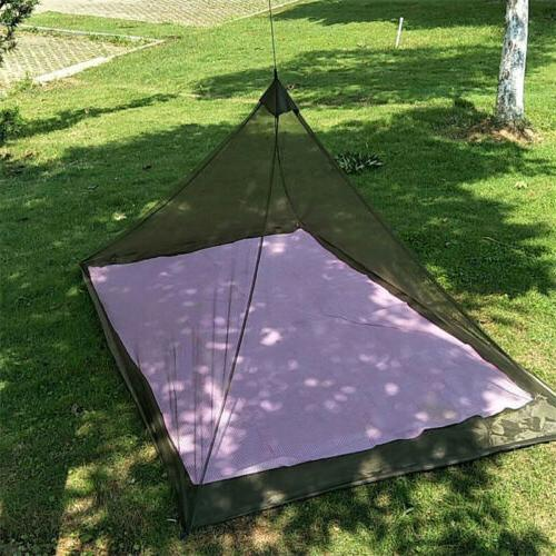 Camping Mosquito Insect Net Netting Cover Canopy Travel Slee