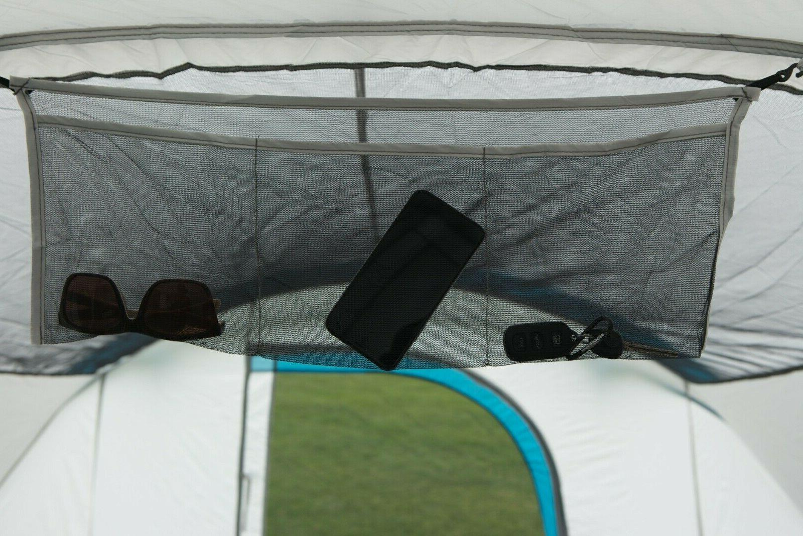 Camping with 2 Removable Room Dividers & Bed