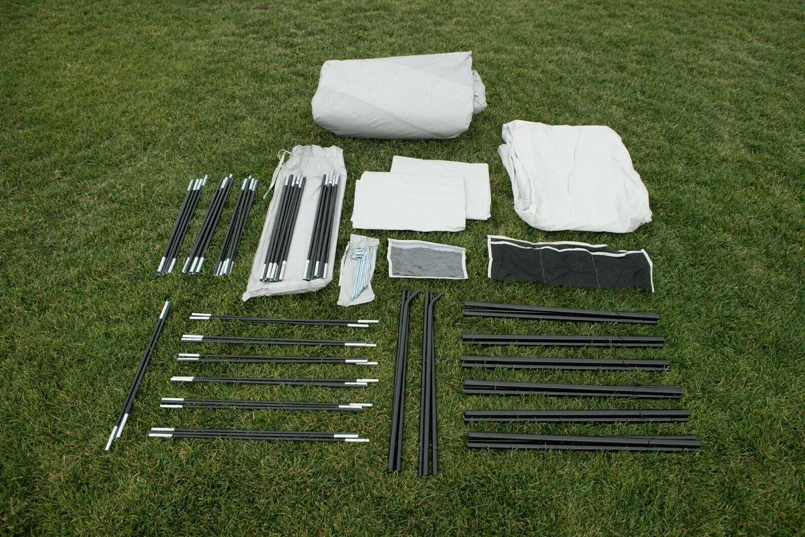 Camping Tent 2 Removable Room Dividers &