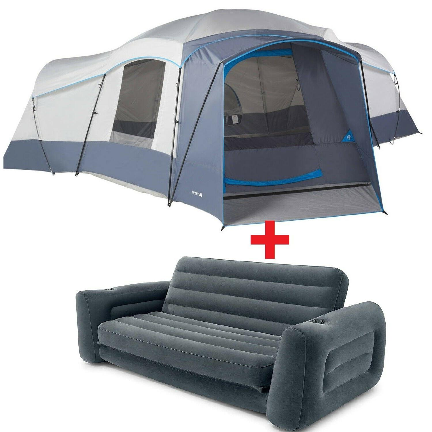 camping tent 16 person with 2 removable